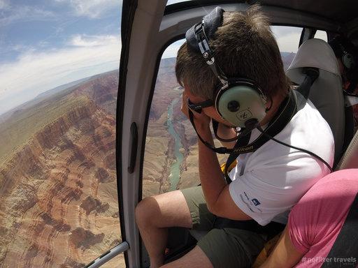 Helikopterem nadWielkim Kanionem